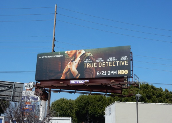 Rachel McAdams True Detective season 2 billboard