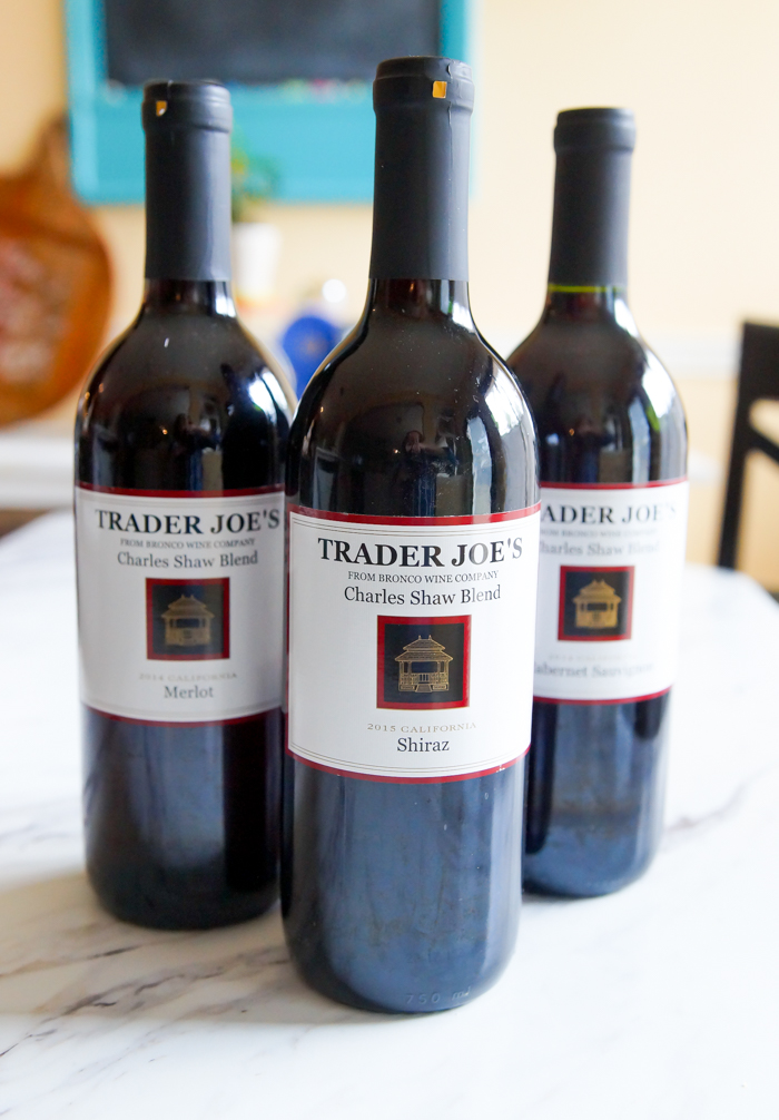 Weekly review of Trader Joe's sweets and desserts. This week: Trader Joe's  Two-Buck Chuck red wines.