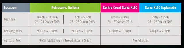 Petrosains Science Festivals will be held at Petrosians Galleria, Centre Court and Esplanade in Suria KLCC
