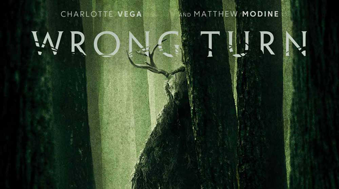 Wrong Turn 2021 póster