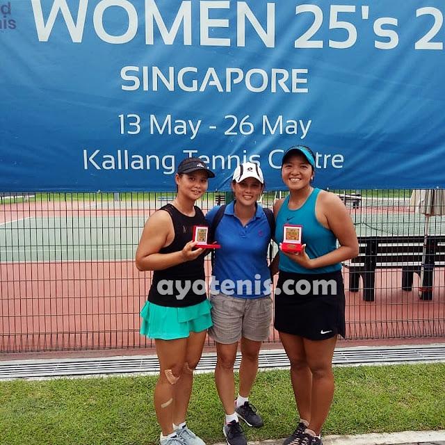 Beatrice Gumulya/Jessy Rompies Bidik Gelar Juara di Turnamen Tenis Pertamina 25K ITF Women's Circuit