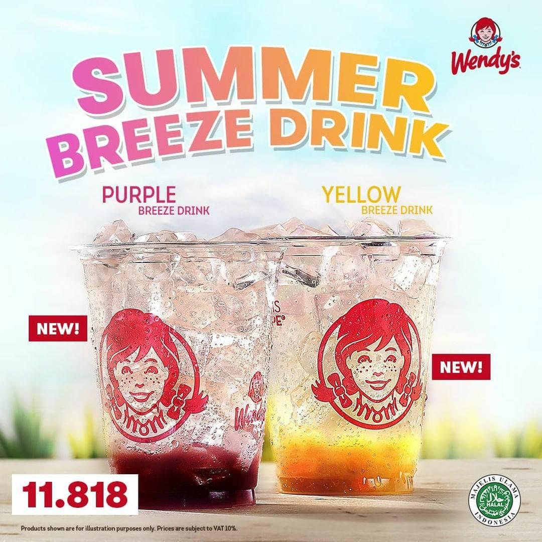 WENDY'S New Summer Breeze Drink  - Harga cuma Rp. 11.818