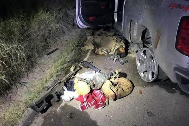 Sube a 16 los Sicarios del CDN abatidos por Militares en Nuevo Laredo