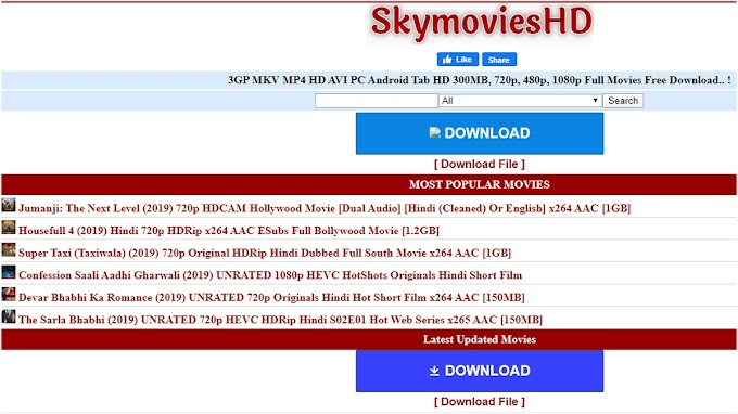 SkyMoviesHD Bollywood Movies Download 720p 1080p 480p