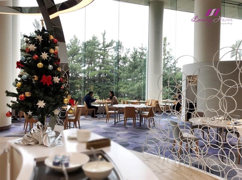 hilton tokyo bay lounge o restaurant review