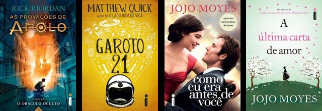 Lançamento de Livros - Maio / Editora Intrínseca