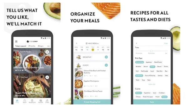 Las mejores aplicaciones de recetas y cocina para Android y iOS