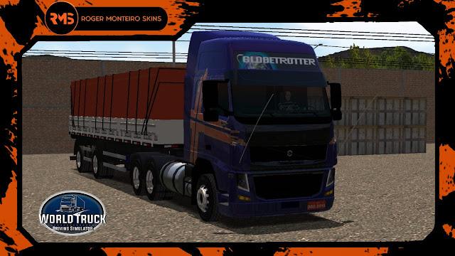 Volvo FH do Pezão - Roger Monteiro Skins