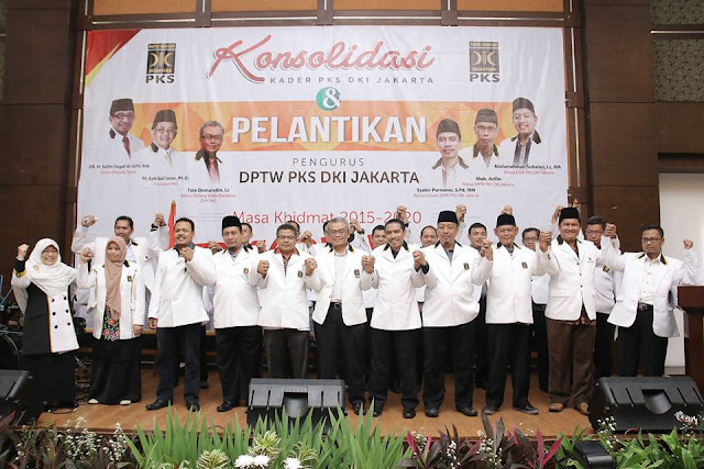 Lantik 28 Pengurus DPTW, PKS DKI Jakarta Siap Pimpin Kembali Ibukota