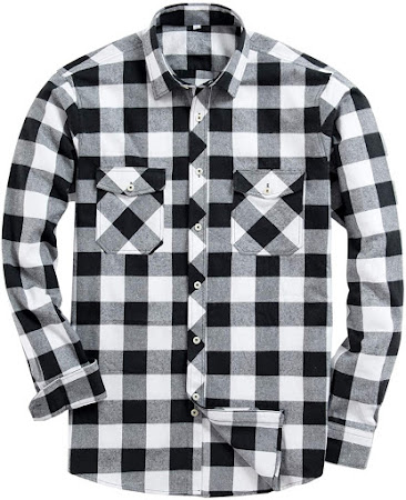 Best Vintage Plaid Flannel Shirts For Men