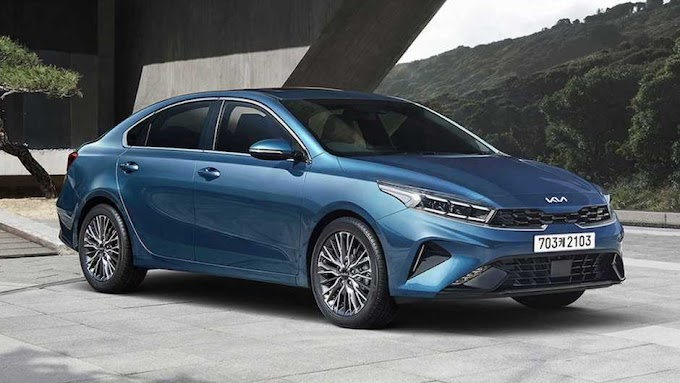 Kia Cerato 2022 FaceLift has officially appeared online