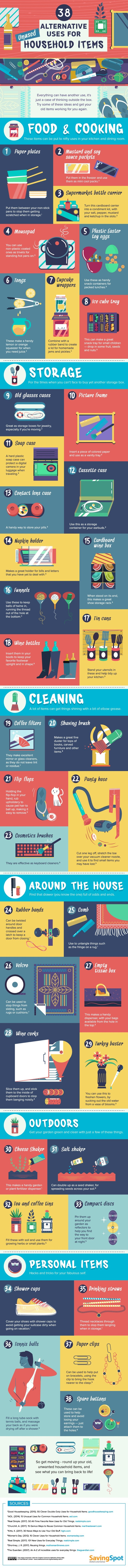 38-alternative-uses-for-unused-household-items-infographic