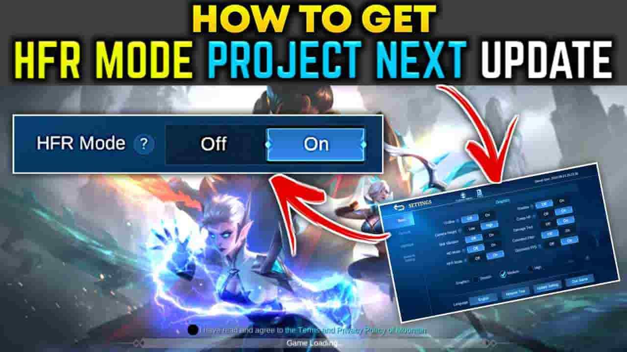 mlbb hfr,how to get hfr mode mlbb 3.0 update, how to hfr mode mobile legends,mobile legends hfr mode