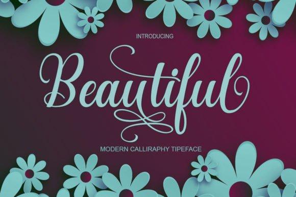 Beautiful Font
