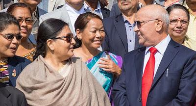 nepalese president biddya bhandari cancels india visit