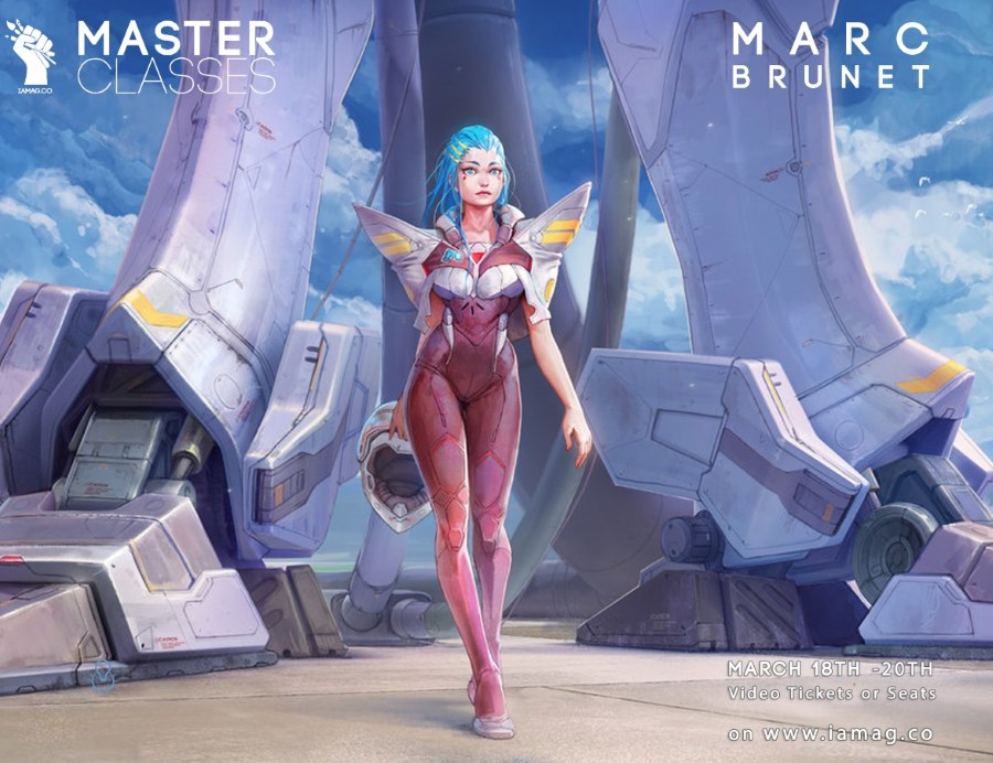 Master Classes d'IAMAG : animation VFX, concept art, game design