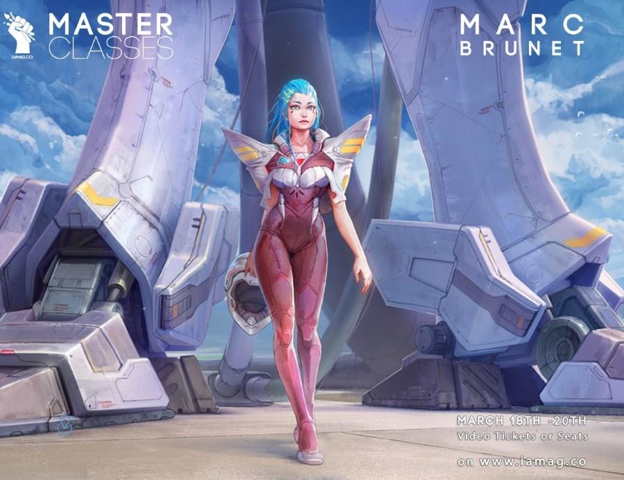 Master Classes d'IAMAG : animation VFX, concept art, game design