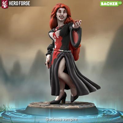 Darlessa, the Vampire Queen