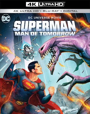 Superman Man of Tomorrow Animated Movie