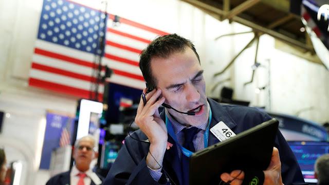 Detienen todas las operaciones de la bolsa en EE.UU. tras una caída de más del 7 %