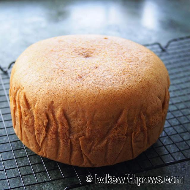 Ma Lai Gao (Steamed Sponge Cake)