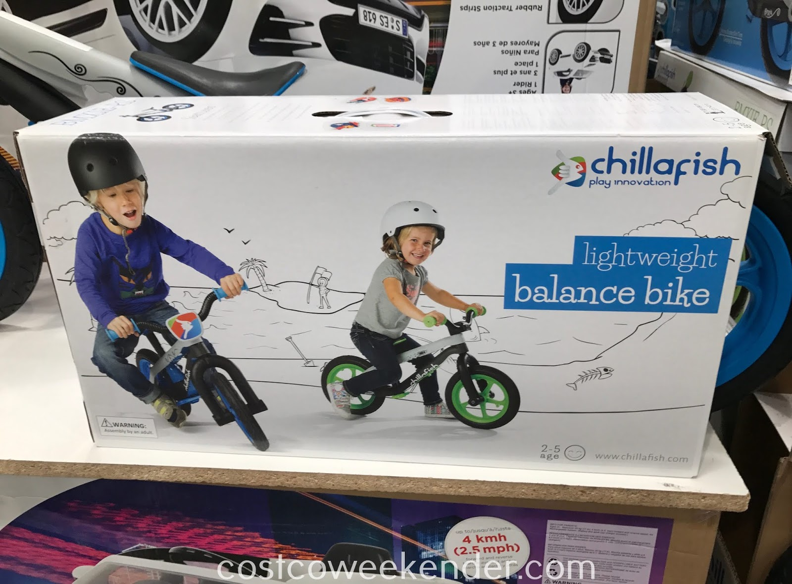 Chillafish Balance Bike: easier to use than bikes with training wheels