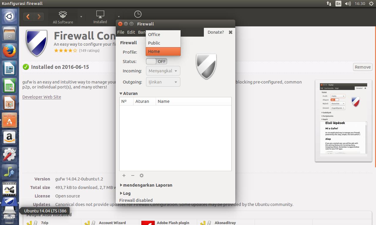 ubuntu home office. Jika Sudah Aktif, Di Close Saja. Ubuntu Home Office