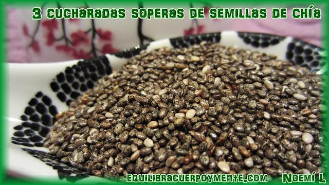Propiedades de las semillas de chia