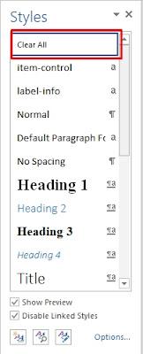 Mengatasi Teks Yang Amburadul Hasil Copy Dari Situs
