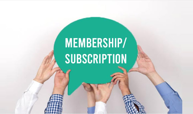 Selling Membership/Subscription: 10 Exclusive Content Monetization Options for Bloggers: eAskme