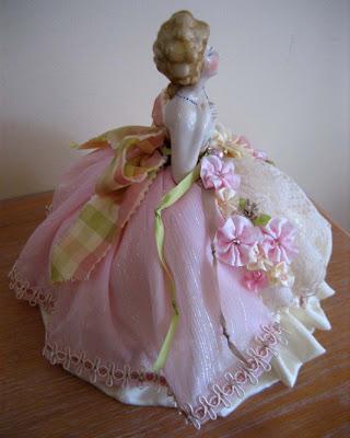 marie half doll