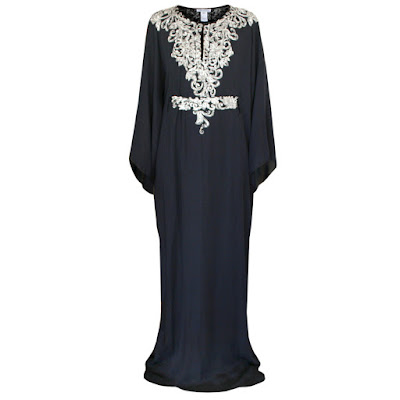 oscar de la renta kaftan tunic dress