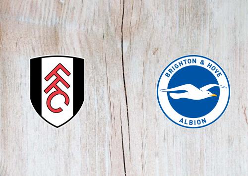 Fulham vs Brighton & Hove Albion -Highlights 16 December 2020