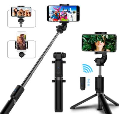 YouTube Video ve Telefon Fotoğraf Çekimleri için Selfie Stick L01 Bluetooth Kumandalı Selfie Çubuğu Tripod Monopod Ürün İncelemesi