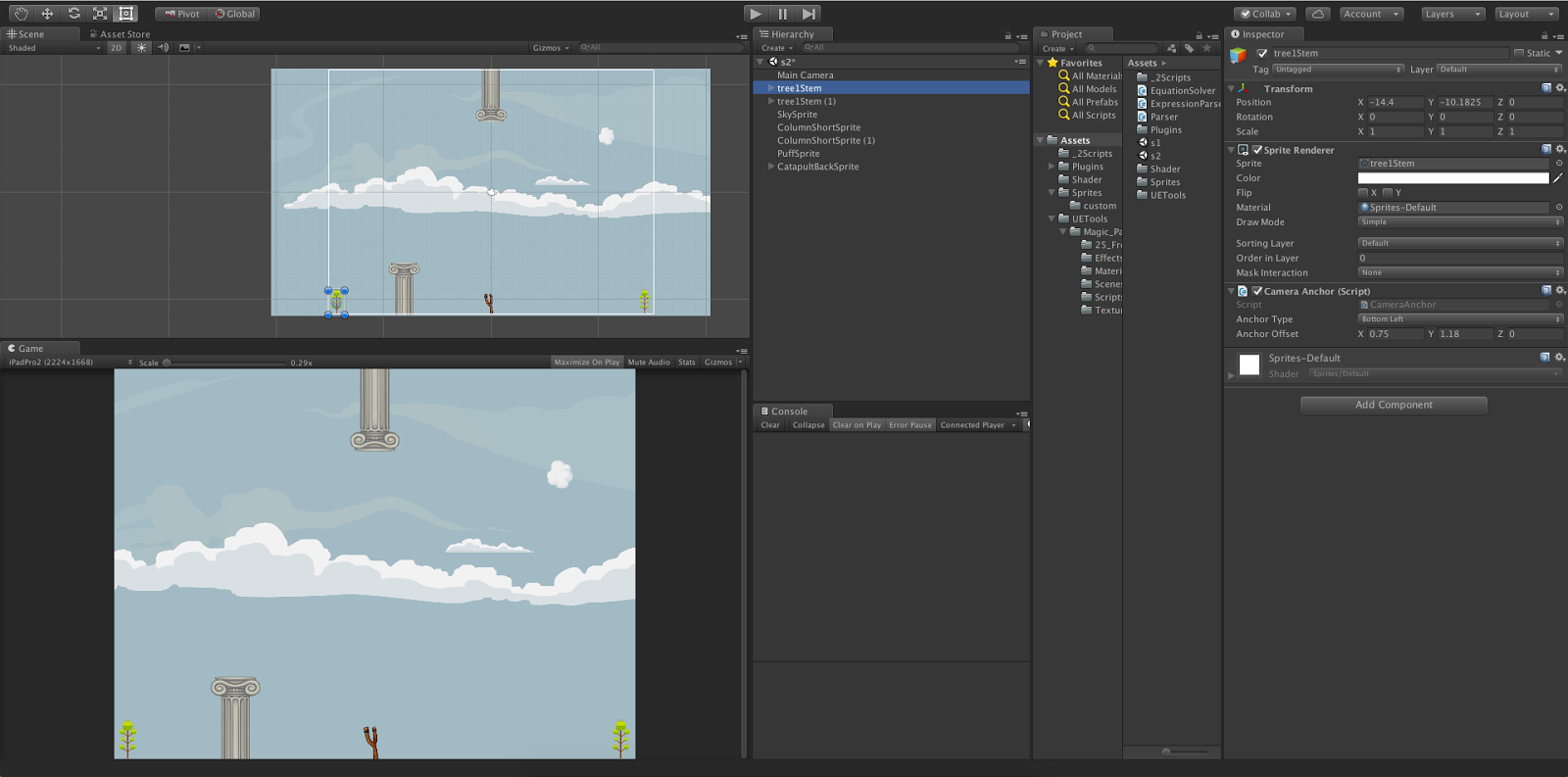 How to create 2D game in unity for all resolution devices | LetC