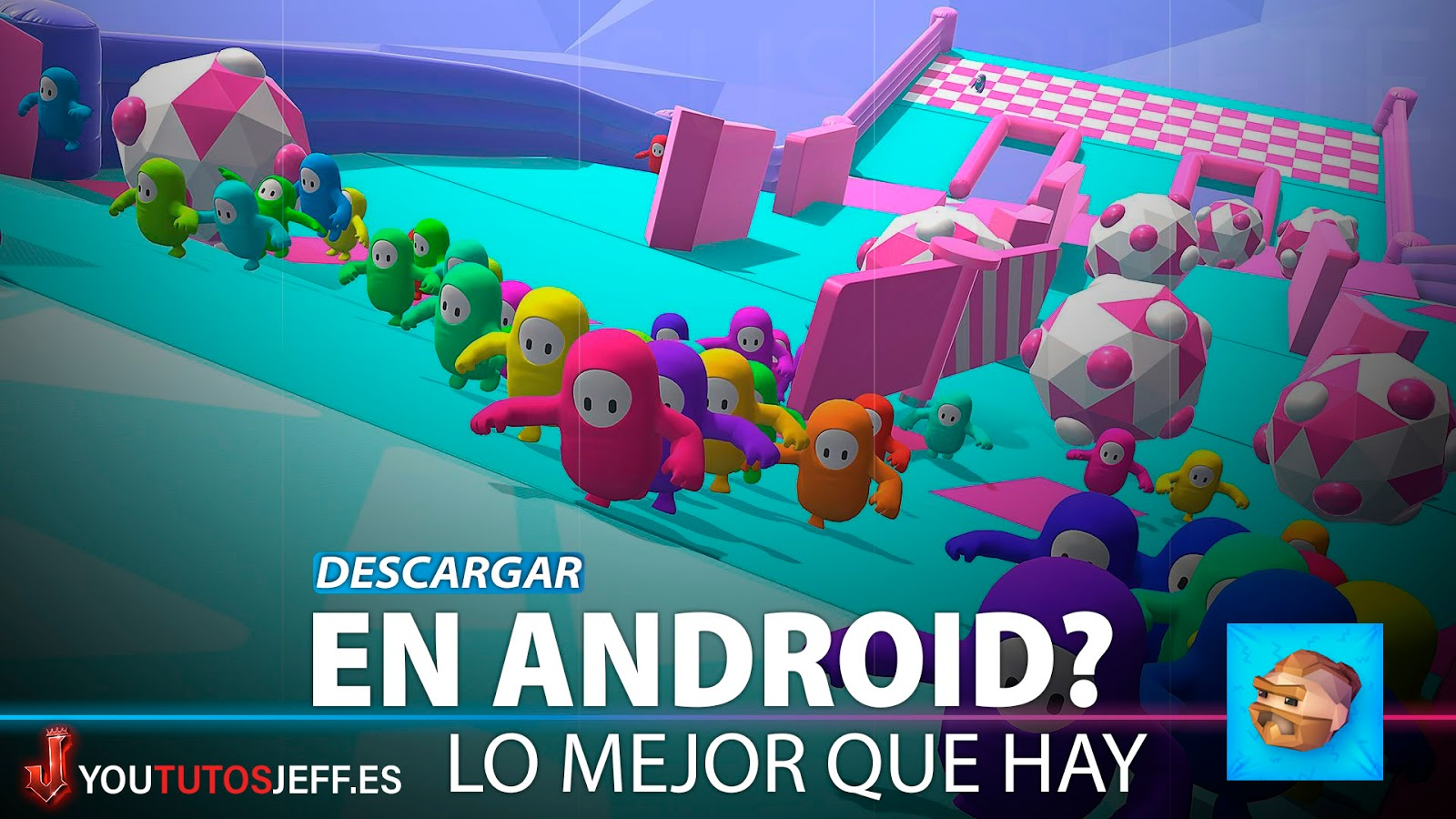 Fall Guys Android? Descargar Fall Dudes 3D GRATIS
