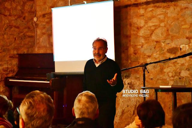 """Διάλεξη του καθηγητή Μάνου Στεφανίδη στο Ναύπλιο: """"Ιδιοφυΐα και τρέλα. Βαν Γκογκ, Χαλεπάς"""" (βίντεο)"""