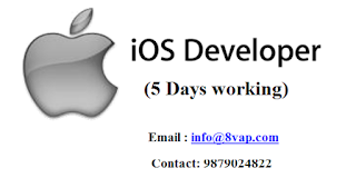 IOS developer (5 Days working) in Ahmedabad