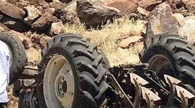 Suruç'ta traktör devrildi: 1 ölü