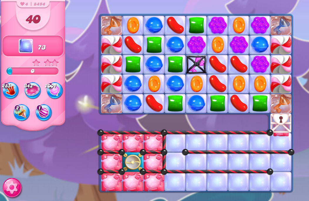 Candy Crush Saga level 8494