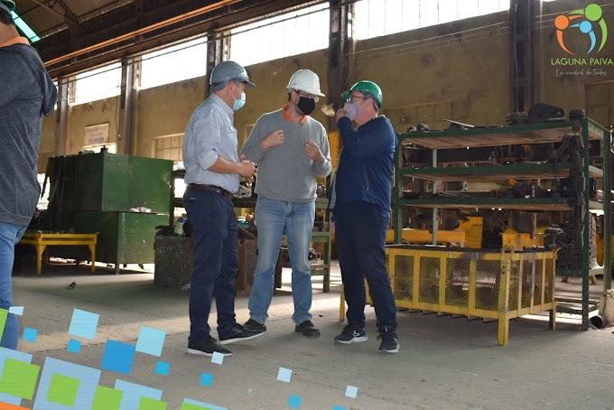 Circunvalar Ferroviario: Gainza se reunió con el intendente de Laguna Paiva