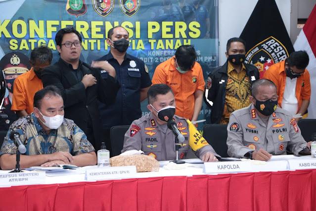 Fredy Kusnadi Ditahan, Ini Kronologis Mafia Tanah Ibunda Dino Patti Djalal