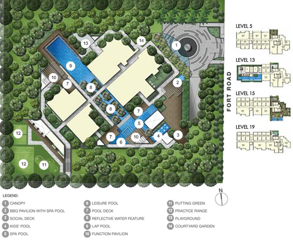Fulcrum Site Plan