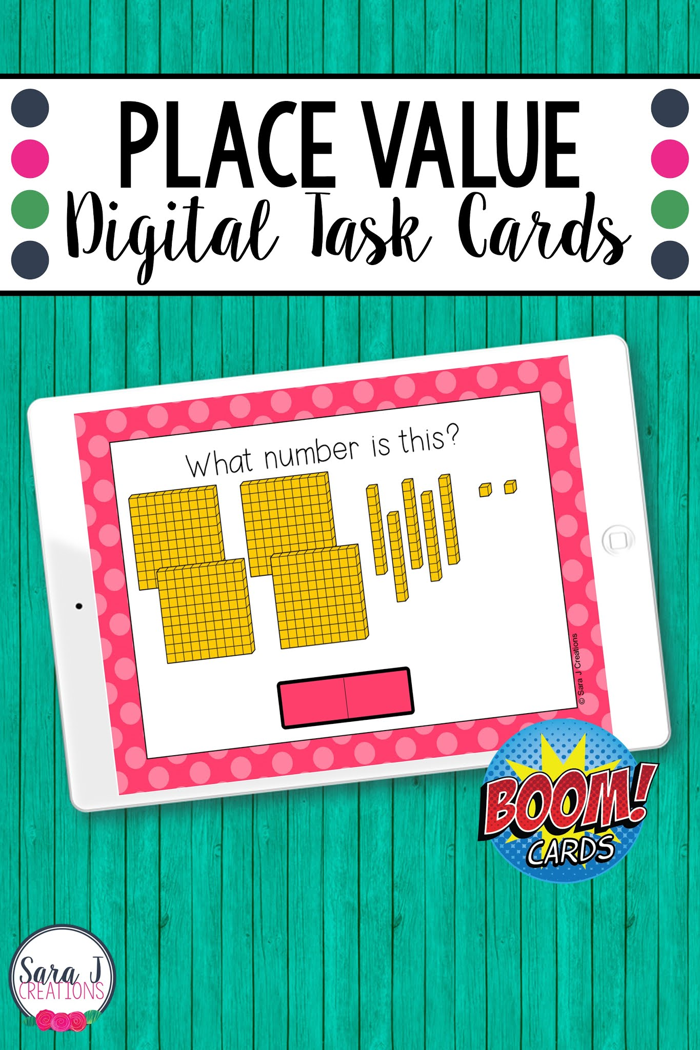 Make digital learning fun with these engaging, no prep Place Value Overview (skip counting, expanded form, comparing numbers, base ten blocks) Boom Cards. These digital task cards are perfect for remote learning but can also be used in a traditional classroom on devices such as ipads, tables, Chromebooks, smartboards, and more. Designed for 2nd grade, these place value task cards include numbers up to 1,000.
