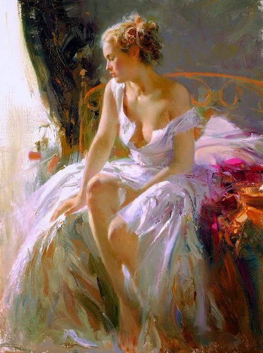 Pino Daeni e suas sensuais pinturas