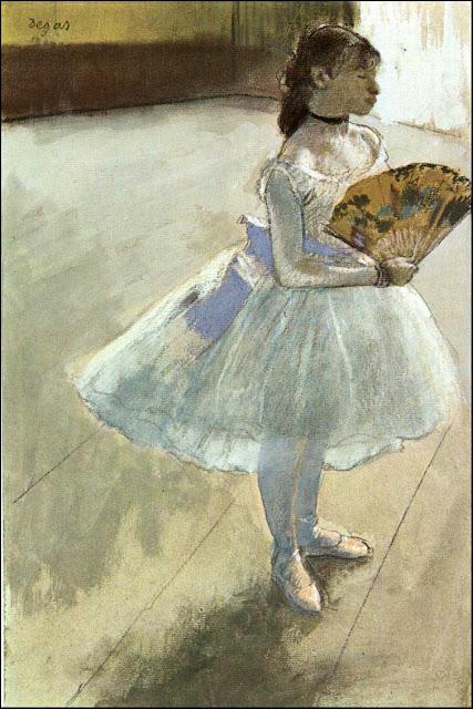 Эдгар Дега - Танцовщица с веером (ок.1879)