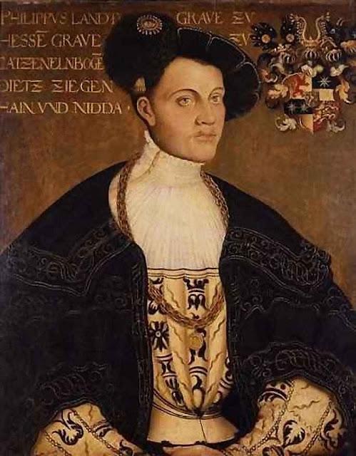 Felipe, landgrave de Hesse: Lutero lhe autorizou ter várias mulheres.