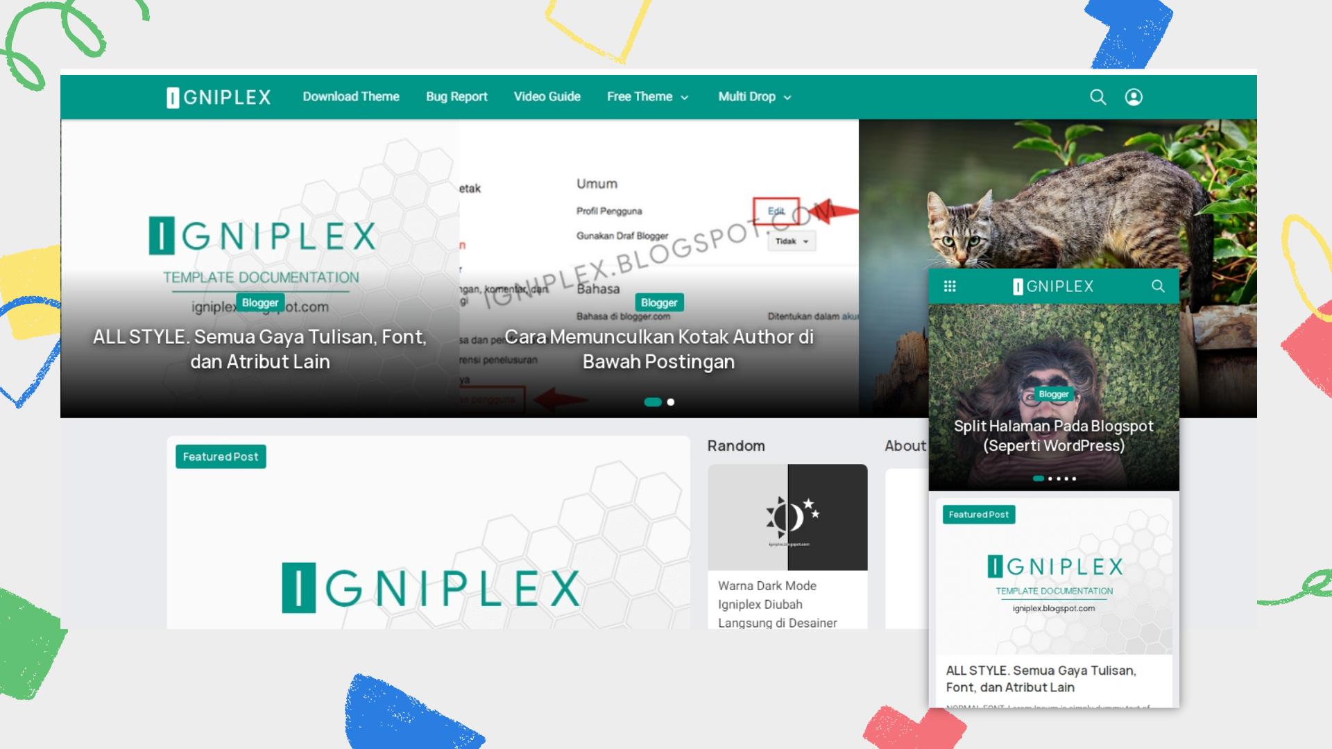 igniplex-v26-premium-blogger-template