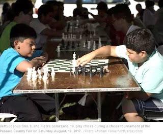 Chess at Passaic County Fair