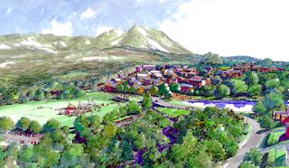 Nightcap Village concept plan